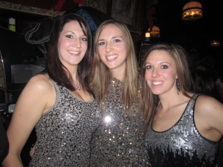 We three will dazzle your with sparkles and science.  All three with or working on Master's degrees.