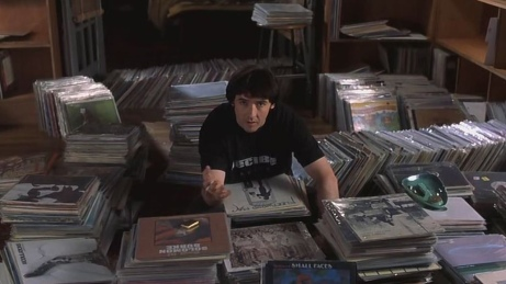 High Fidelity.....great movie, and it becomes slightly amusing when you're life becomes dating a real like John Cusack!