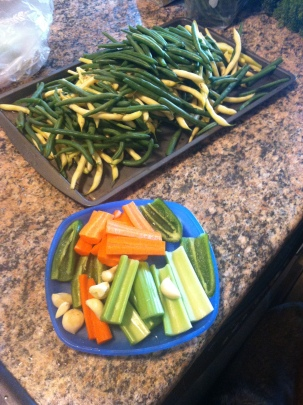 Prep work is key....can anyone say Mise en Place!?!?