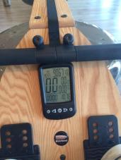 Meters Rowed